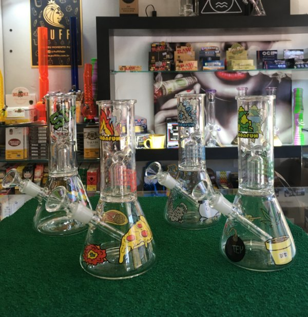 BONG SQUADAFUM GLASS ICE PERCOLATOR