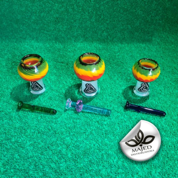 DOMELESS SQUADAFUM COLORS FÊMEA 14 E 19MM