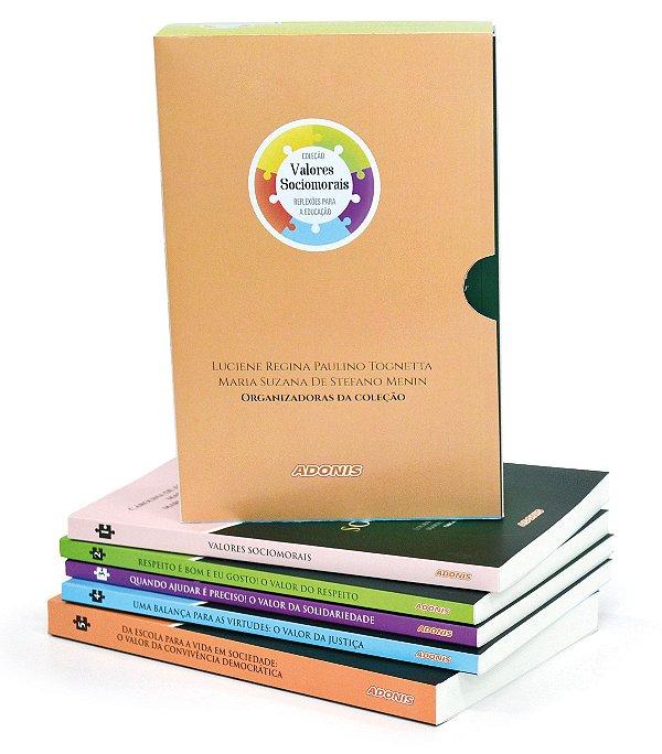 Coleção Valores Sociomorais Reflexões para a educação