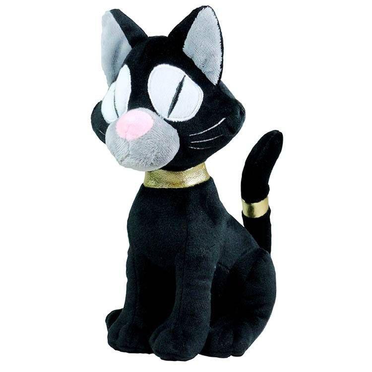 Brinquedo Mordedor de Pelúcia Gato Preto Jambo Pet