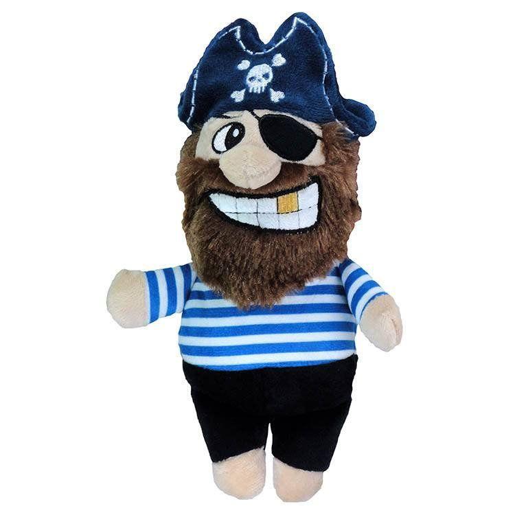 Brinquedo Mordedor Pelúcia Pirata Listrado Jambo Pet
