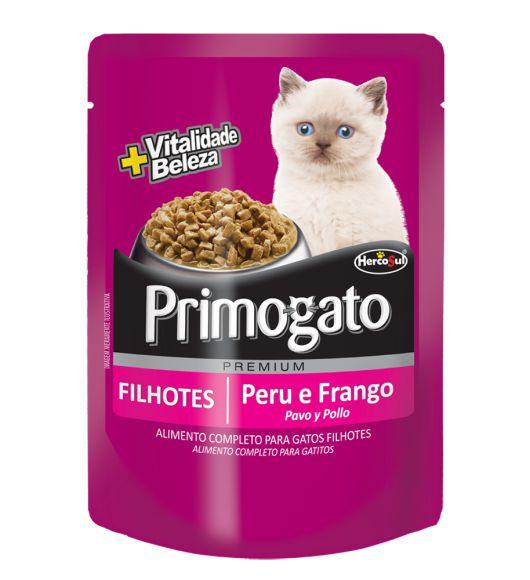 Sachê Primogato Filhotes Peru E Frango 85g