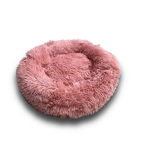 Cama para Pet em pelúcia tamanho médio Jambo cor Rosa