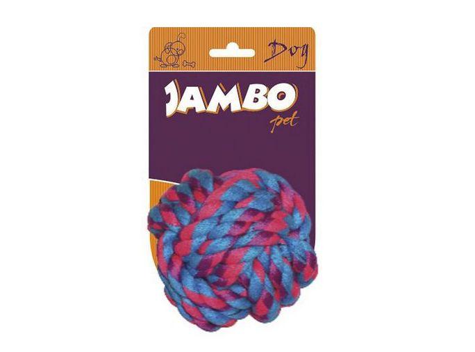Brinquedo mordedor para cães Bola de corda Média Jambo Pet