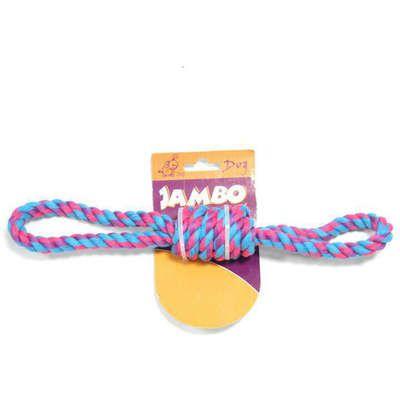 Brinquedo Mordedor para cães Jambo corda 8 twisted