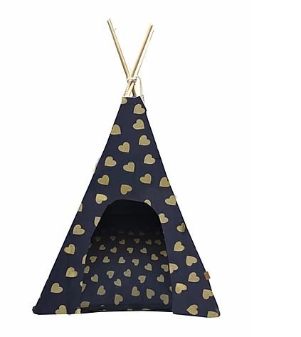 Tenda Para Pet Love Cor Azul 60x60 Fabrica Pet