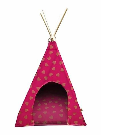 Tenda Para Pet Love Cor Rosa 60x60 Fabrica Pet