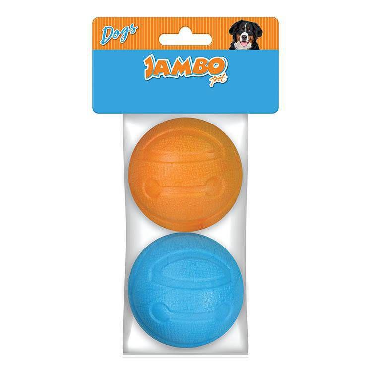 Brinquedo de Cachorro Bola Treat Ball com 2 unidades Jambo