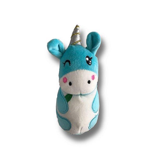 Brinquedo de Cachorro Pelúcia Fofinha Unicórnio Jambo Pet