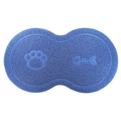 Tapete para Cachorro e Gato Litter Mat Trap 8 Azul Jambo