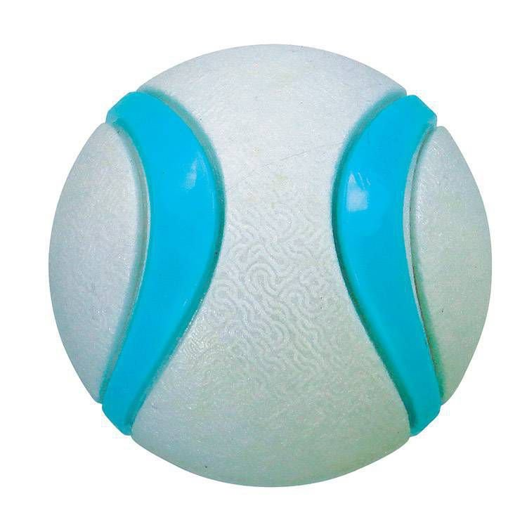 Brinquedo para cachorro Bola Dual Foam Cinza com azul Jambo