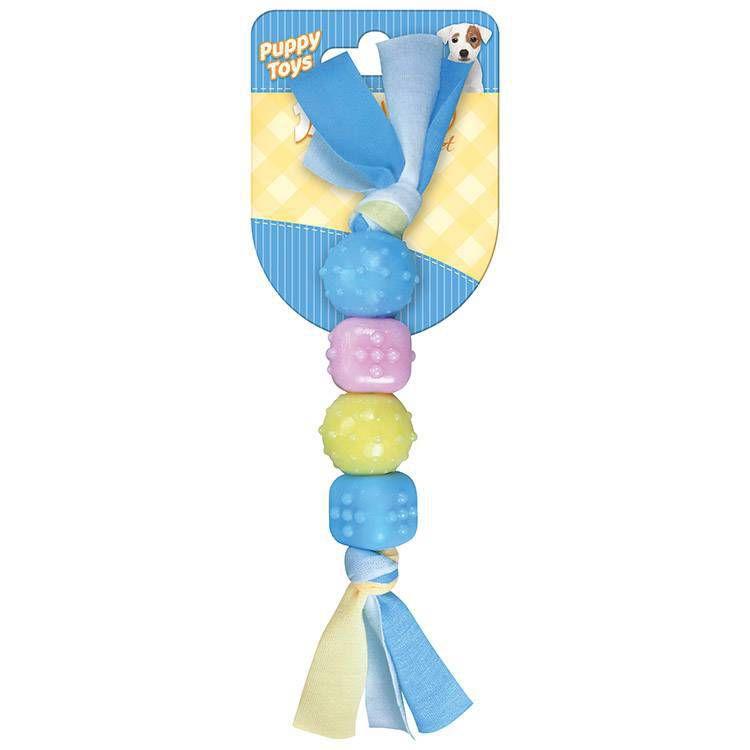 Brinquedo Mordedor Baby Corda Mix 2 Para Cães Filhote Jambo
