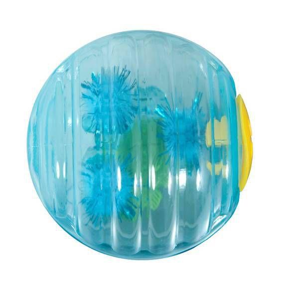 Brinquedo de Gato Bolinha Fish Ball Azul JW Cataction