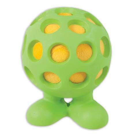 Brinquedo para Cachorro Bola Holle Cuz Médio Verde JW