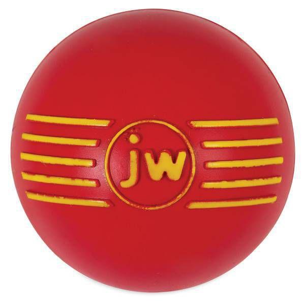 Brinquedo de cachorro Bola com Apito iSqueak Ball M Vermelha