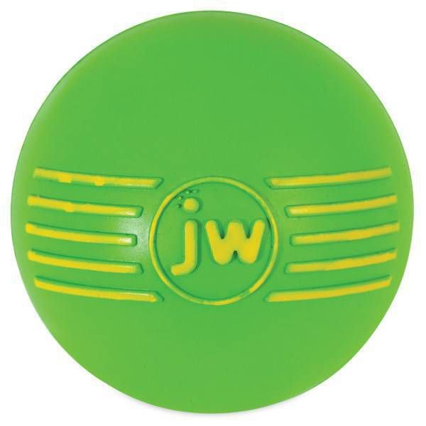 Brinquedo de cachorro Bola com Apito iSqueak Ball G Verde