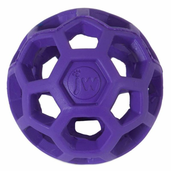 Brinquedo de cachorro Bola Holee Roller Mini Roxo JW