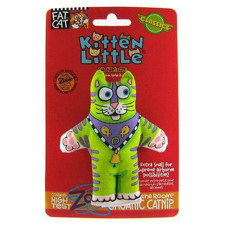Brinquedo para Gato com Catnip FatCat Kitten Little Verde