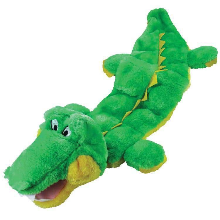 Brinquedo de cachorro Mordedor Pelúcia Jacaré Multi Squeake