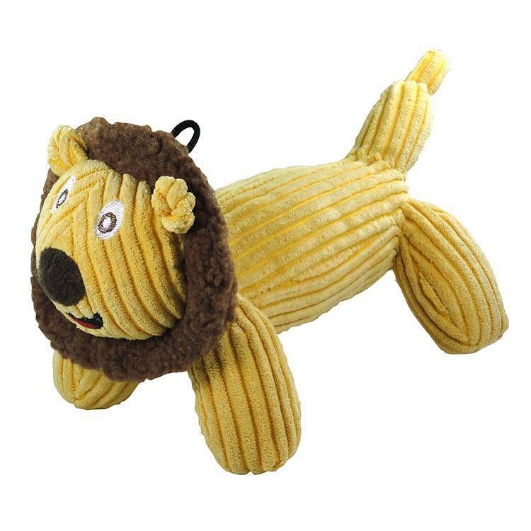 Brinquedo de Cachorro Pelúcia Leão Veludo Jambo Pet