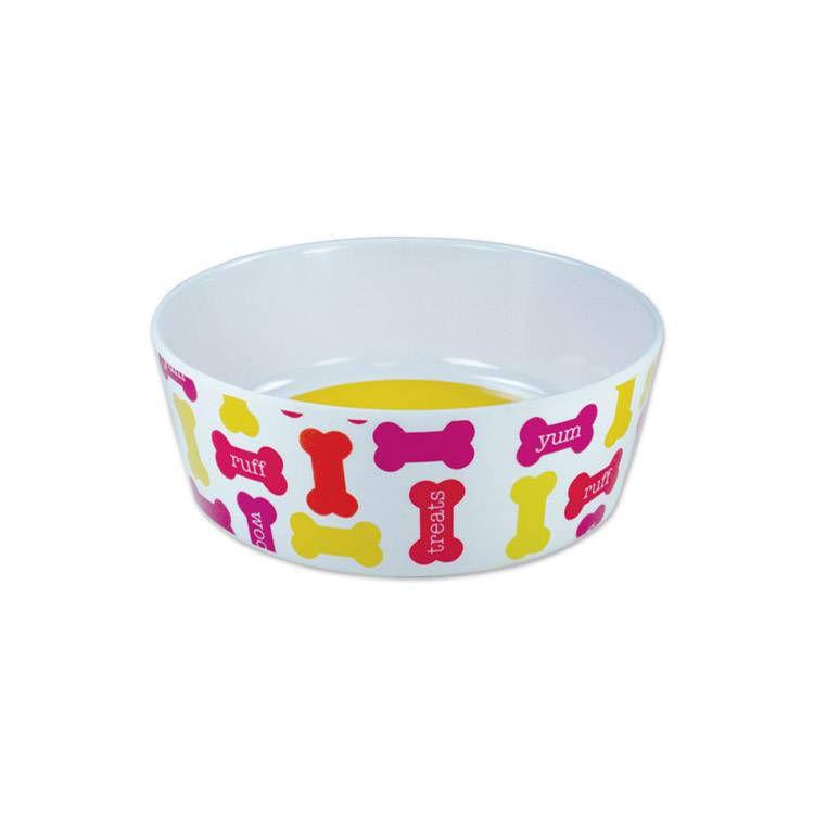 Tigela Comedouro de cachorro Plástico Yum tam 1 330ml Jambo