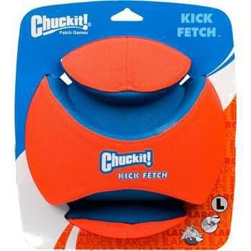Brinquedo de Cachorro Bola Kick Fetch Grande Chuckit