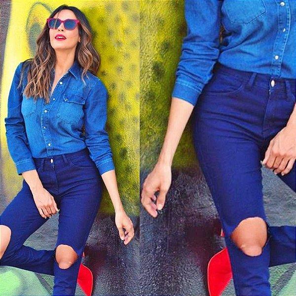 Calça Feminina Jeanseria Cigarrete Donna Jeans