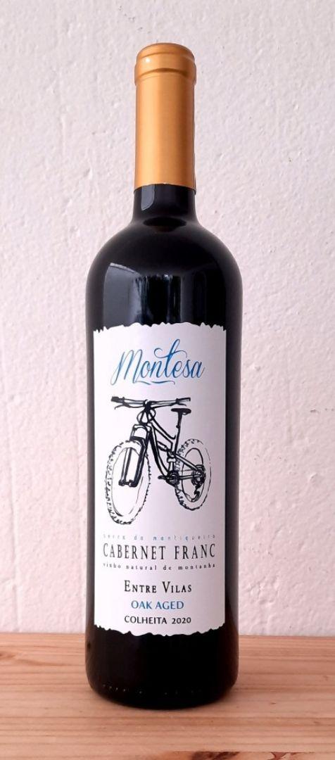 Vinho Natural Cabernet Franc 2021 Entre Vilas lata