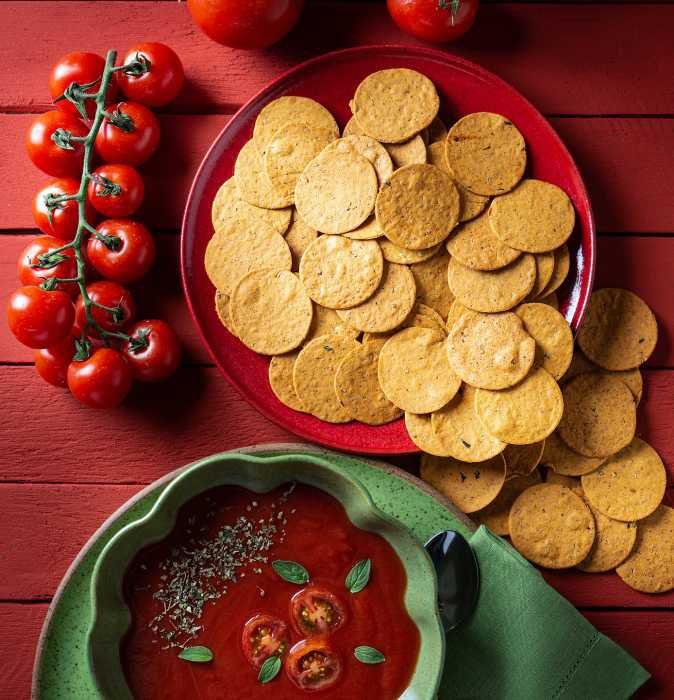 Biscoito de Tomate e Ora-pro-Nobis