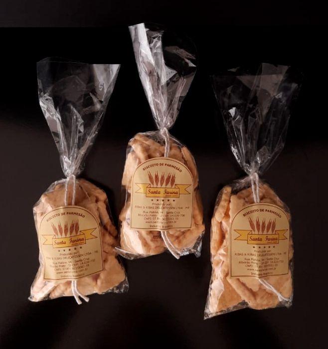 Biscoito de fécula de batata e Parmesão 100g