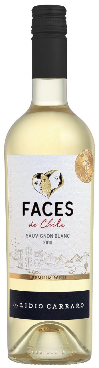 Vinho Lidio Carraro Faces de Chile Sauvignon Blanc 2020 - 750ml