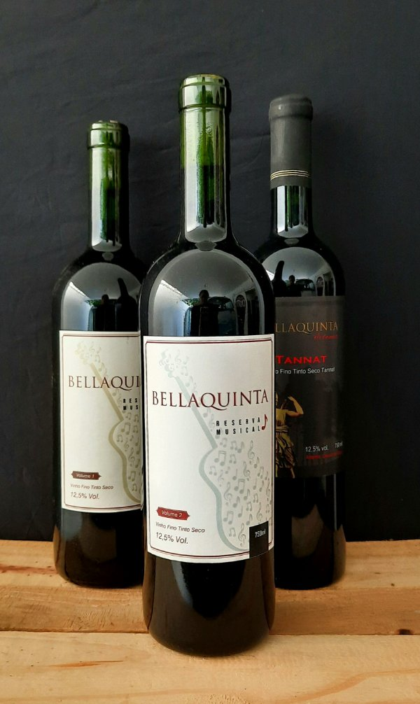 Vinho Reserva Musical vol2 Bellaquinta 750ml