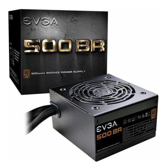Fonte Evga Atx 500BR 80 Plus Bronze