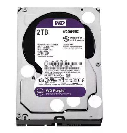 HD  Wd Purple 2Tb Sata 6GB/S 5400 Rpm