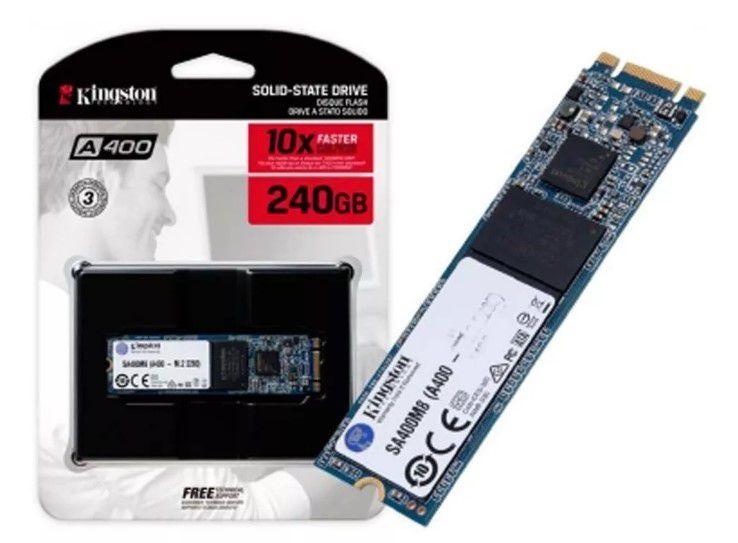 HD SSD M.2 240Gb Kingston A400  2280 SA400M8/240G