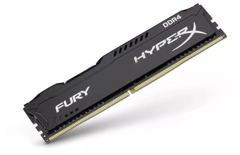 Memória Kingston 4GB DDR4 2400Mhz HyperX Fury