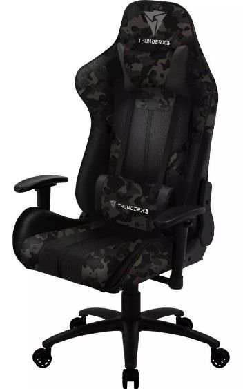 Cadeira Gamer Inclinável Thunderx3 Bc3 Camuflada