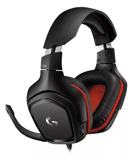 Headset Gamer Logitech Surround Sound G332 Com Fio