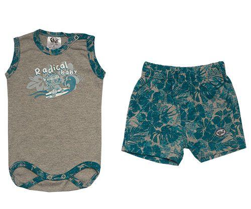 Body Regata Masculino com Shorts