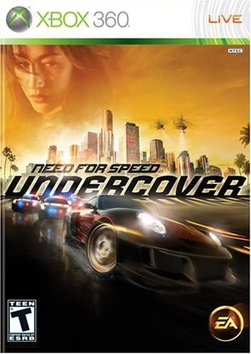 Need For Speed Undercover - MÍDIA DIGITAL XBOX 360