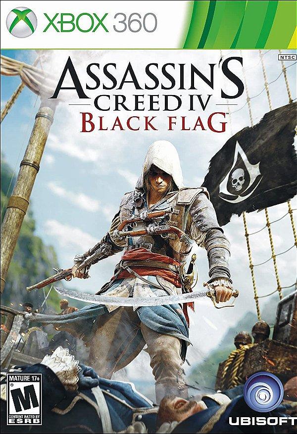 ASSASINS'S CREED 4 BLACK FLAG - MÍDIA DIGITAL XBOX 360