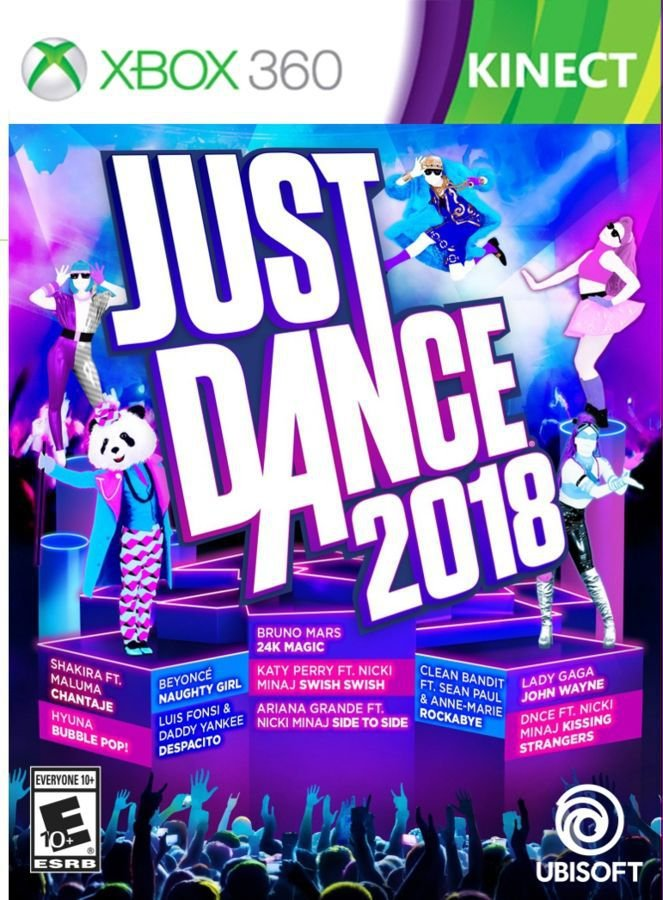 JUST DANCE 2018 - MIDIA DIGITAL