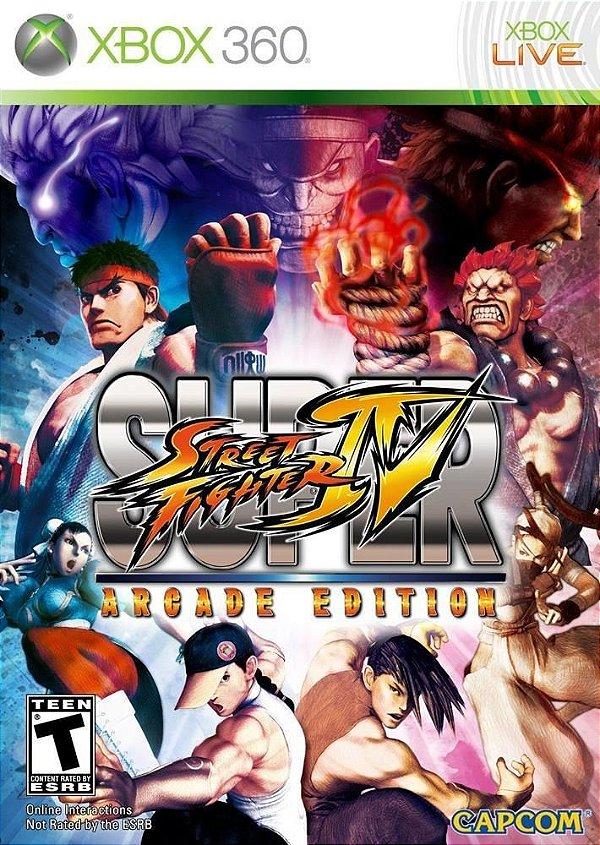 SUPER STREET FIGHTER 4 ARCADE EDITON - MÍDIA DIGITAL XBOX 360