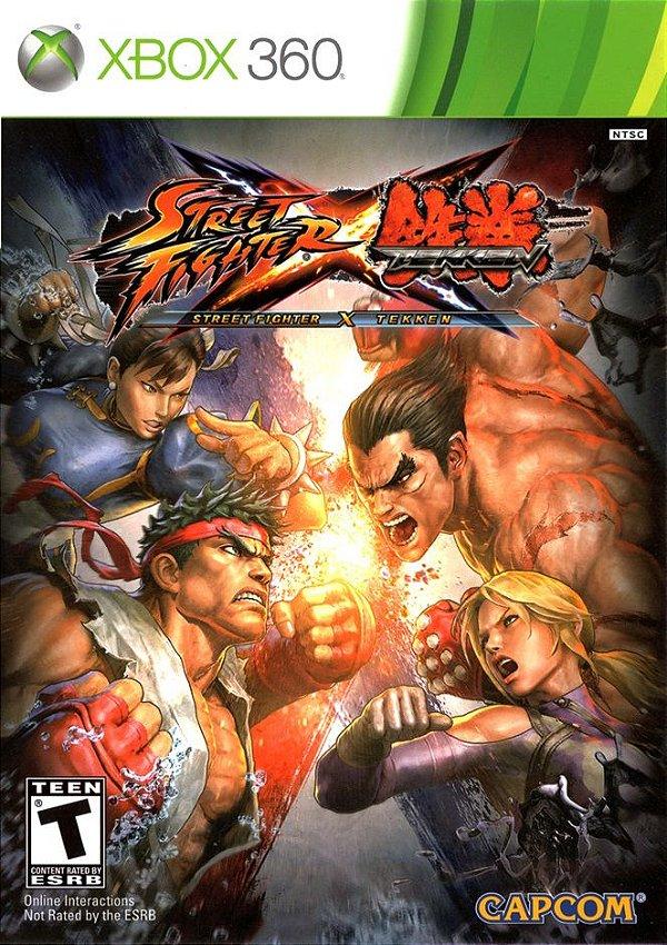 STREET FIGHTER X TEKKEN- MÍDIA DIGITAL XBOX 360