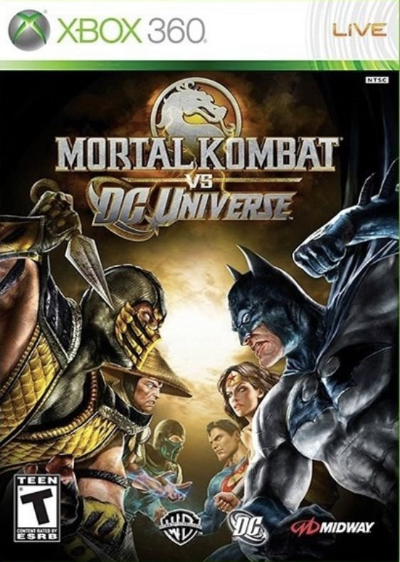 Mortal Kombat vs. DCU- MÍDIA DIGITAL