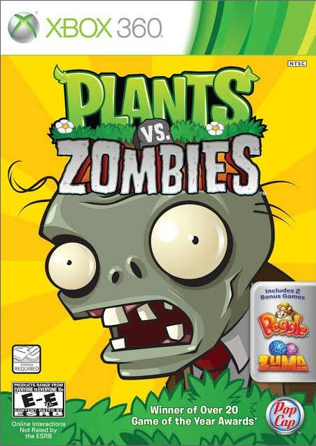 Plants vs. Zombies-MÍDIA DIGITAL XBOX 360
