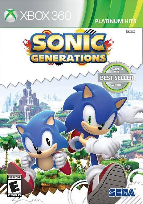 Sonic Generations - MÍDIA DIGITAL
