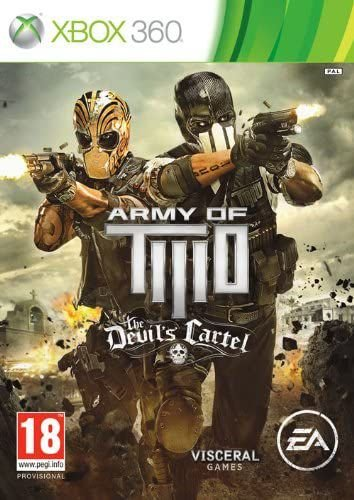 Army of Two The Devil's Cartel- MÍDIA DIGITAL XBOX 360