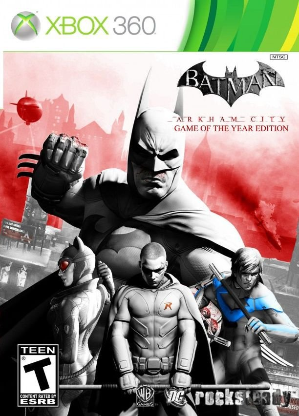 Batman: Arkham City-MÍDIA DIGITAL XBOX 360