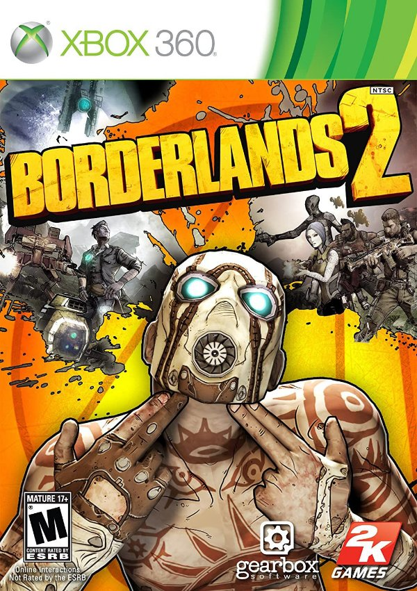 Borderlands 2-MÍDIA DIGITAL XBOX 360